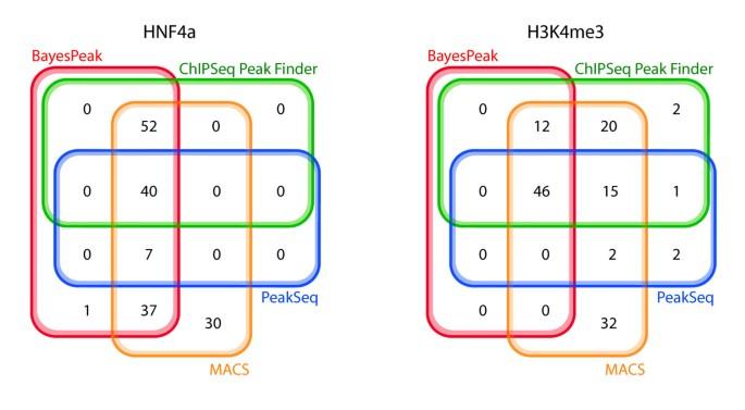 BayesPeak: Bayesian analysis of ChIP-seq data | BMC Bioinformatics