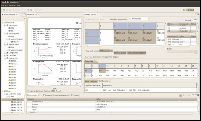 Brunn: An open source laboratory information system for