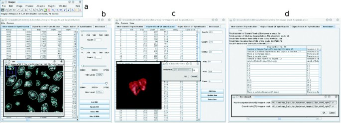 Gebiss: an ImageJ plugin for the specification of ground truth and