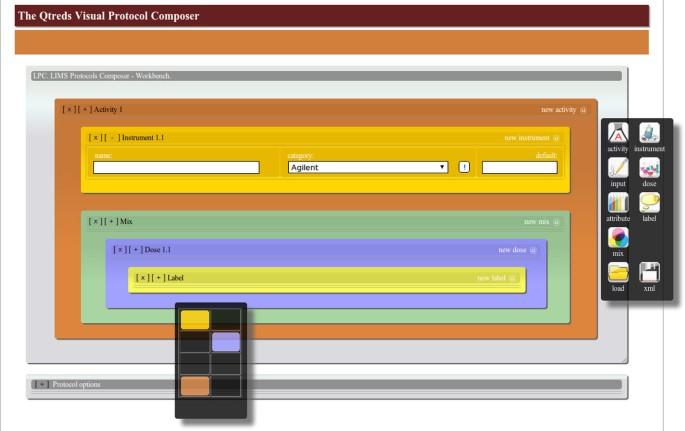 QTREDS: a Ruby on Rails-based platform for omics