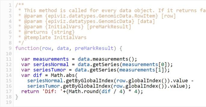Epiviz: a view inside the design of an integrated visual analysis