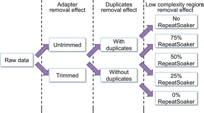 Detrimental effects of duplicate reads and low complexity