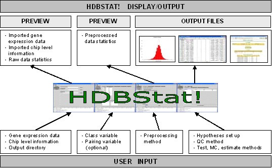 HDBStat!: A platform-independent software suite for
