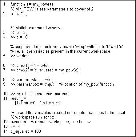 mGrid: A load-balanced distributed computing environment for