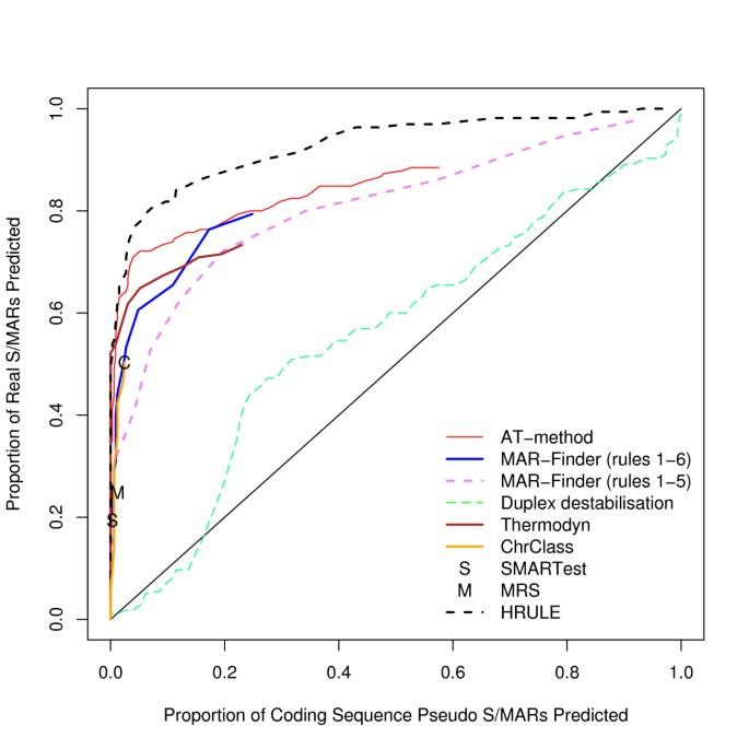 A comparative study of S/MAR prediction tools   BMC