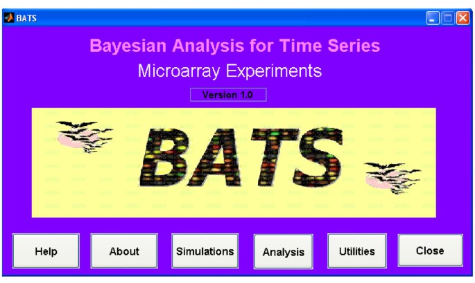 BATS: a Bayesian user-friendly software for Analyzing Time