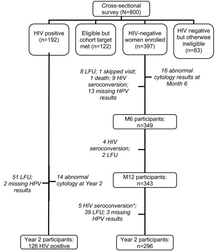 The epidemiology of human papillomavirus infection in HIV