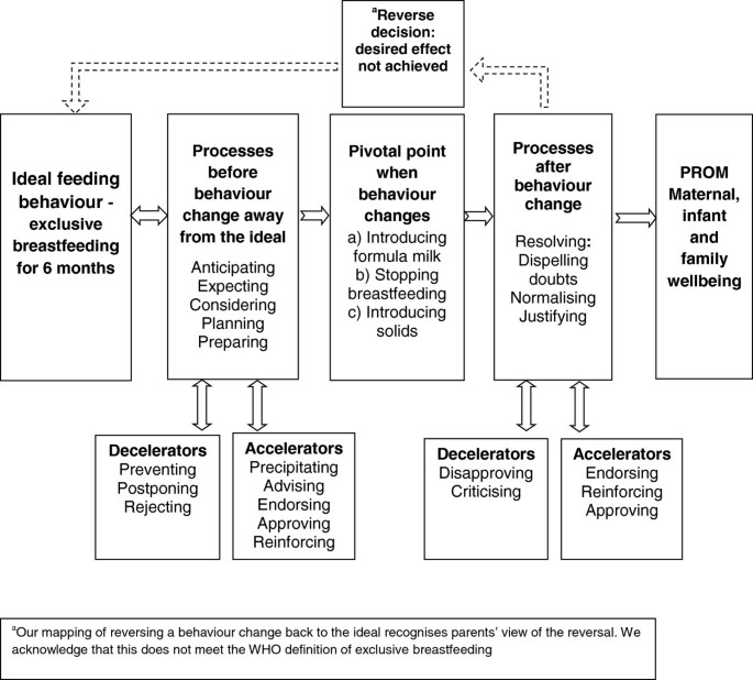 Significant others, situations and infant feeding behaviour