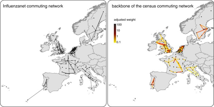 The representativeness of a European multi-center network