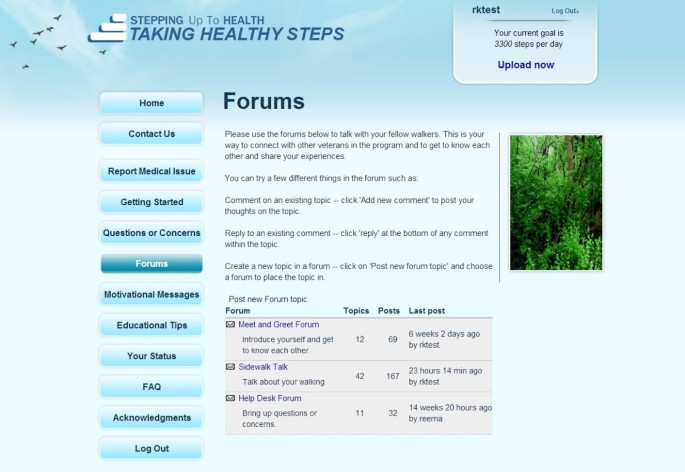 Taking Healthy Steps: rationale, design and baseline characteristics