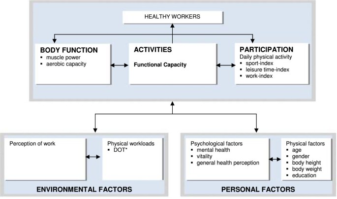 Construct validity of functional capacity tests in healthy workers ...