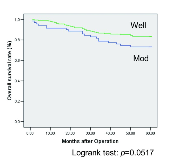Moderately Differentiated Colorectal Adenocarcinoma As A Lymph Node Metastatic Phenotype Comparison With Well Differentiated Counterparts Bmc Surgery Full Text