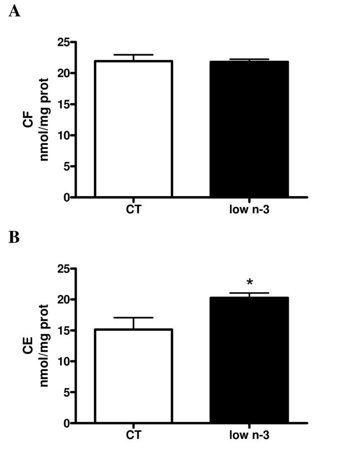 Hepatic steatosis in n-3 fatty acid depleted mice: focus on