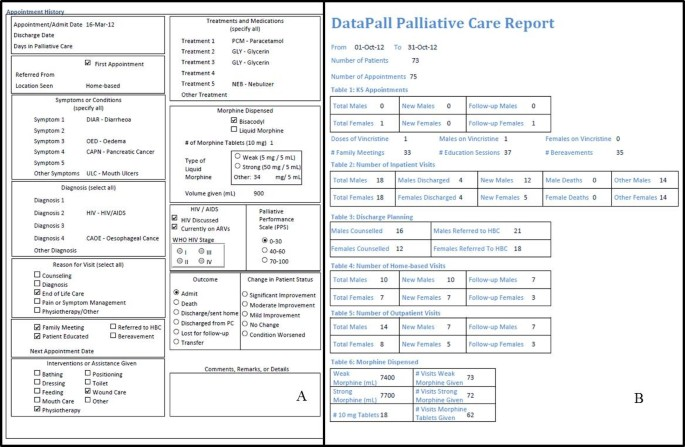 Novel open-source electronic medical records system for palliative