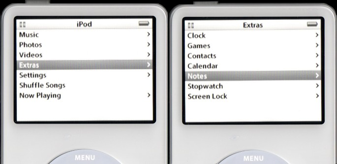A method for creating interactive content for the iPod, and