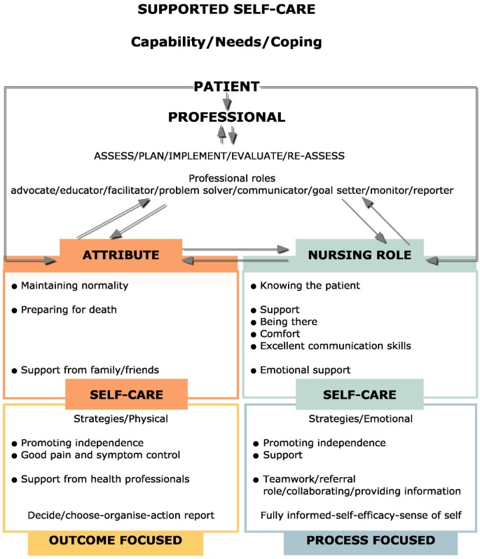 An exploration of self-management support in the context of