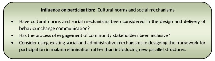The architecture and effect of participation: a systematic