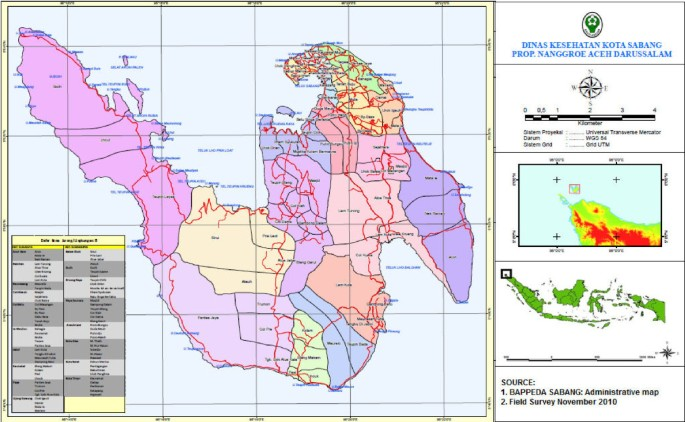 Progress Towards Malaria Elimination In Sabang Municipality Aceh Indonesia Malaria Journal Full Text