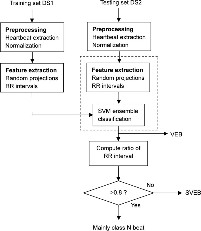 A new hierarchical method for inter-patient heartbeat classification