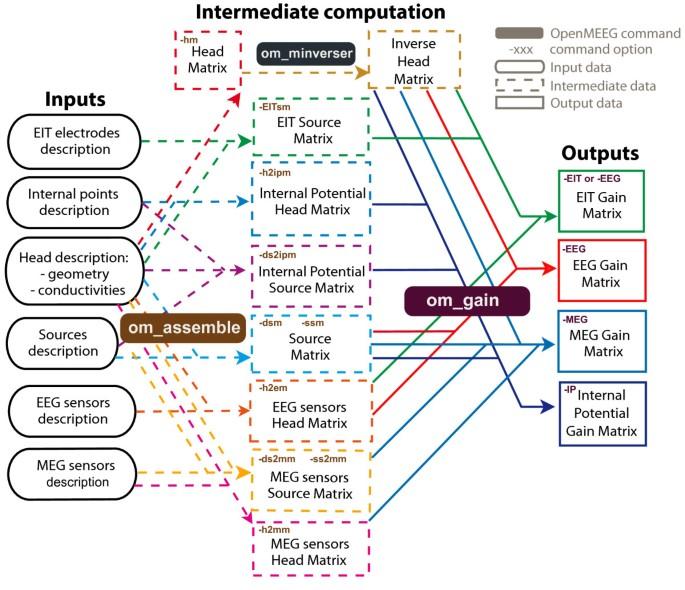 OpenMEEG: opensource software for quasistatic bioelectromagnetics