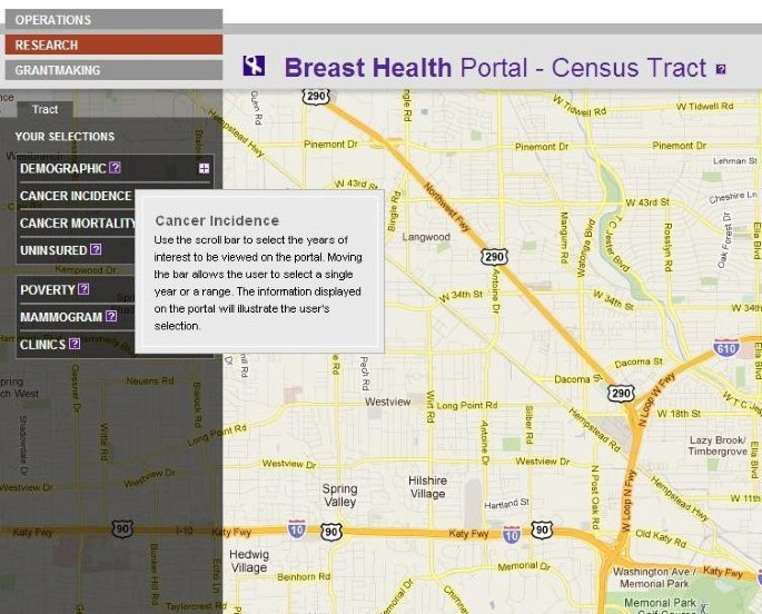 Interactive web-based mapping: bridging technology and data