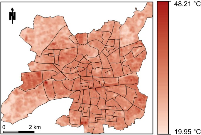 Mapping heatwave health risk at the community level for