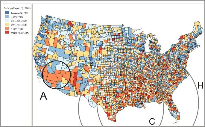 Geovisual analytics to enhance spatial scan statistic interpretation ...