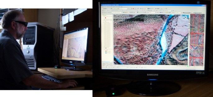 Web GIS in practice VII: stereoscopic 3-D solutions for