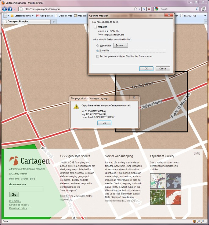 Web GIS in practice VIII: HTML5 and the canvas element for