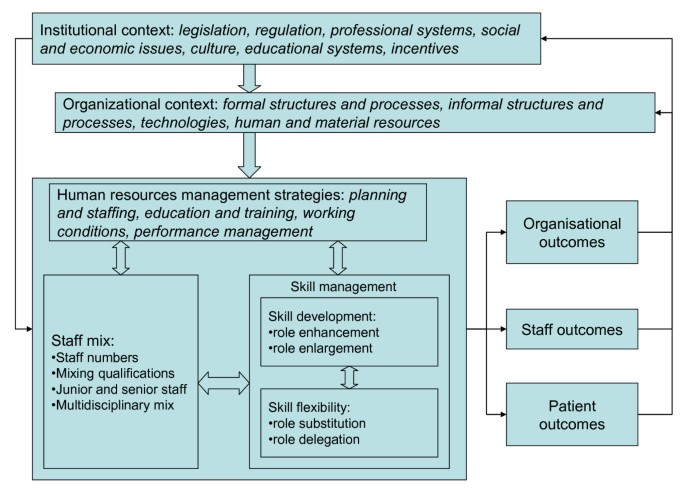From staff-mix to skill-mix and beyond: towards a systemic