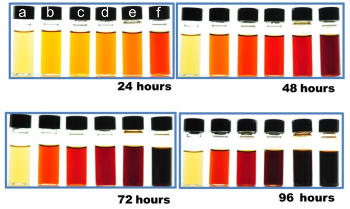 Synthesis of silver nanoparticles using reducing agents obtained