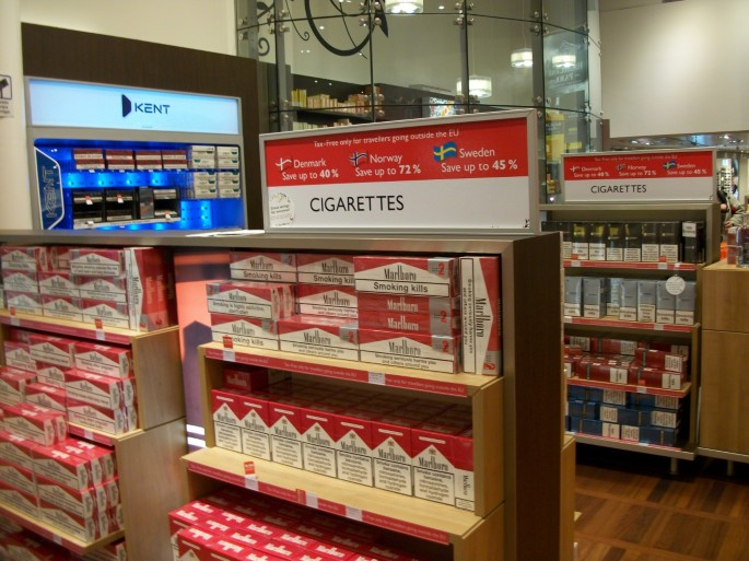 Regulating duty free sales and tobacco advertising in
