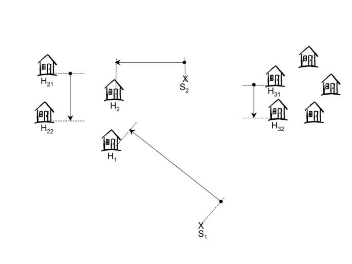 Optimisation of the T-square sampling method to estimate