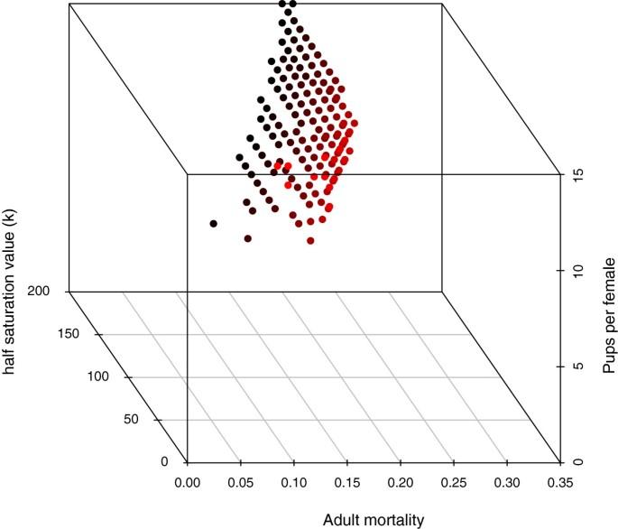 Modeling the population dynamics of lemon sharks | Biology