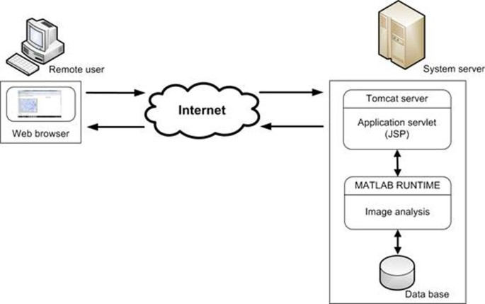 Using MATLAB software with Tomcat server and Java platform