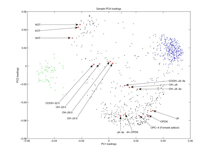 Metabolite-based clustering and visualization of mass spectrometry ...