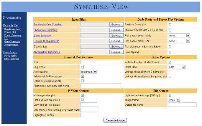 Synthesis-View: visualization and interpretation of SNP association