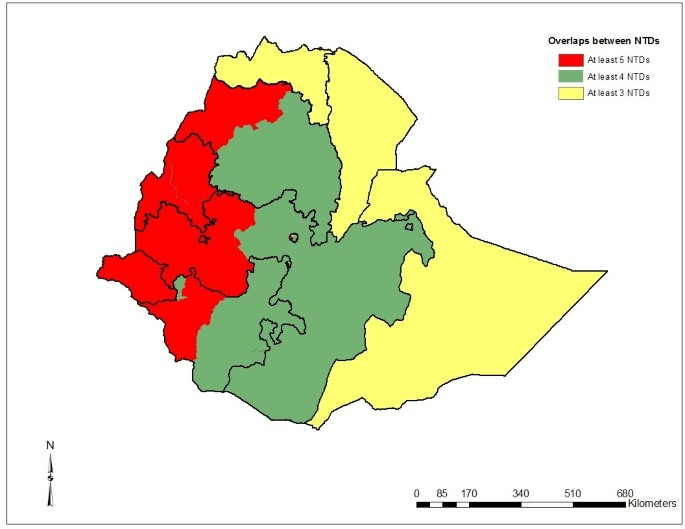 The burden of neglected tropical diseases in Ethiopia, and