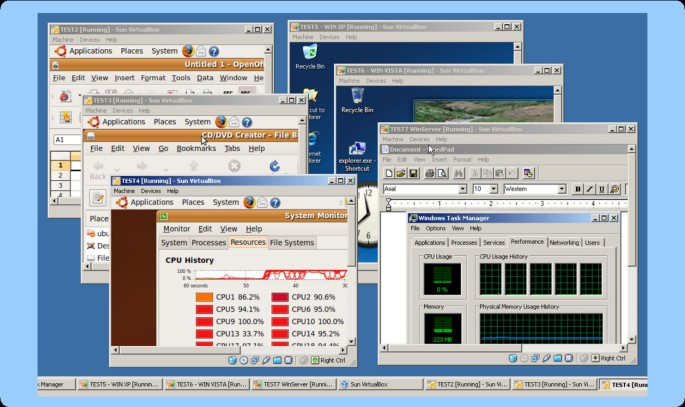 Software platform virtualization in chemistry research and