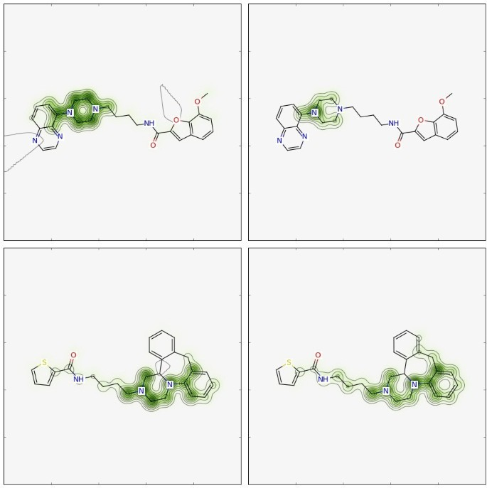 Similarity maps - a visualization strategy for molecular