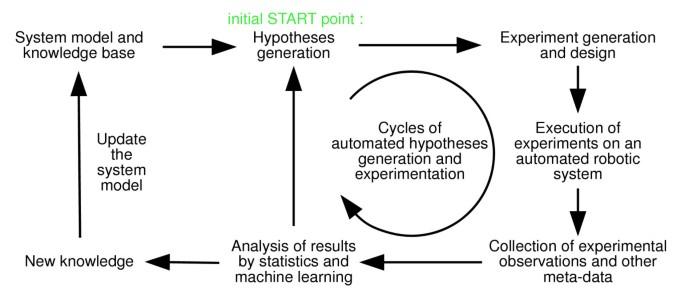 Towards Robot Scientists for autonomous scientific discovery