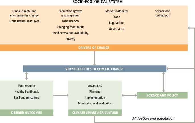 Climate-smart agriculture global research agenda: scientific