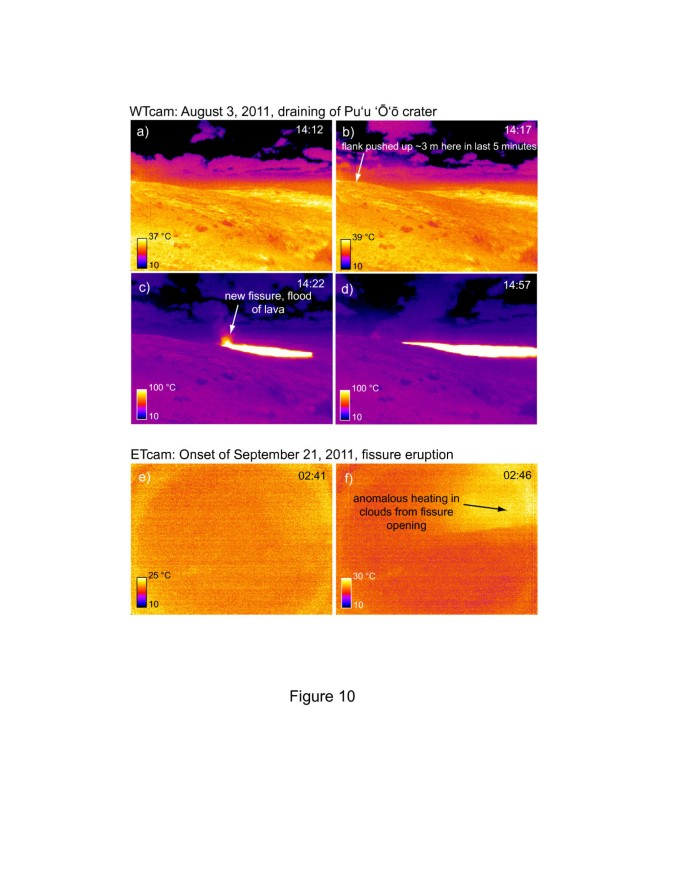 Continuous monitoring of Hawaiian volcanoes with thermal cameras