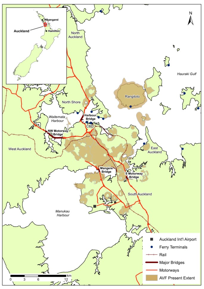 Evacuation planning in the Auckland Volcanic Field, New Zealand: a