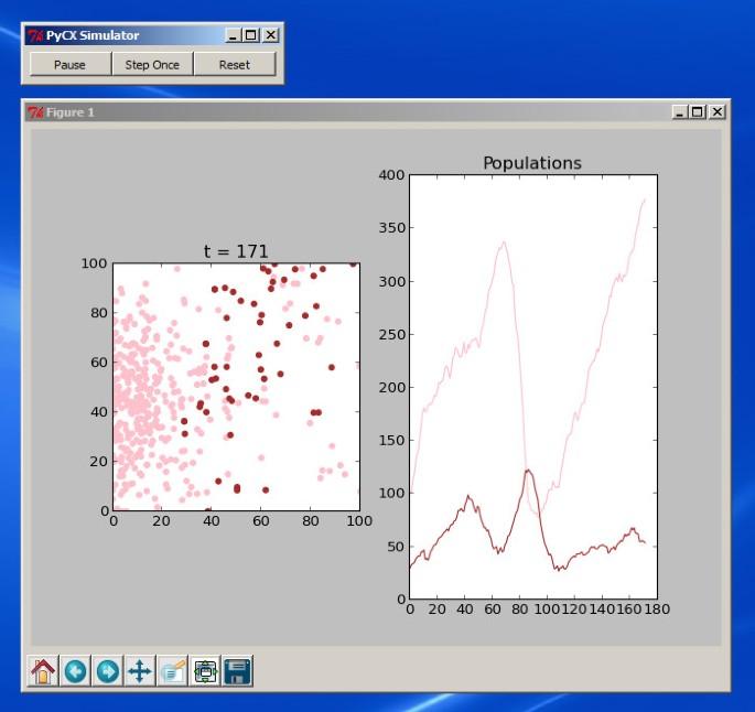 Python Particle Simulation