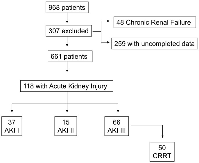 Acute Kidney Injury In Critical Ill Patients Affected By Influenza A H1n1 Virus Infection Critical Care Full Text