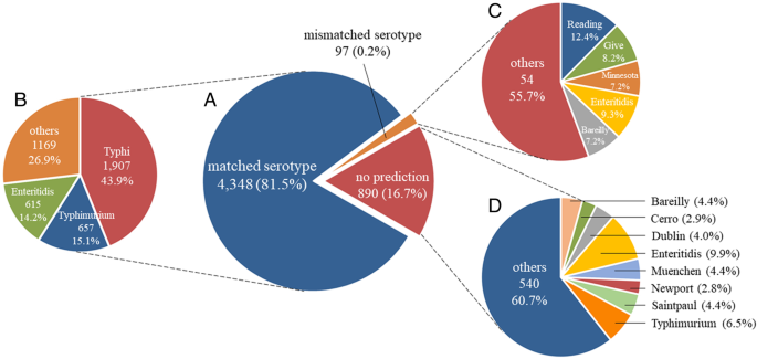CSESA: an R package to predict Salmonella enterica serotype
