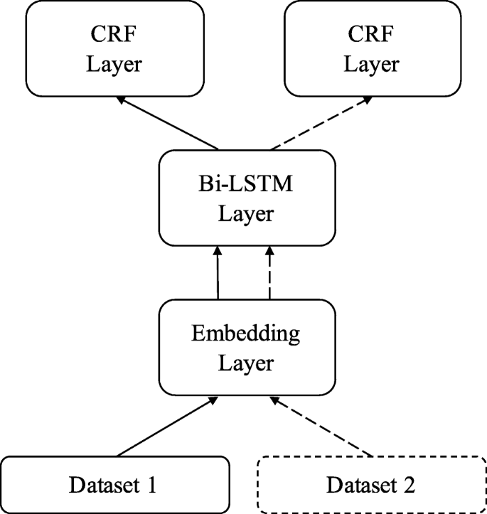 Multitask learning for biomedical named entity recognition