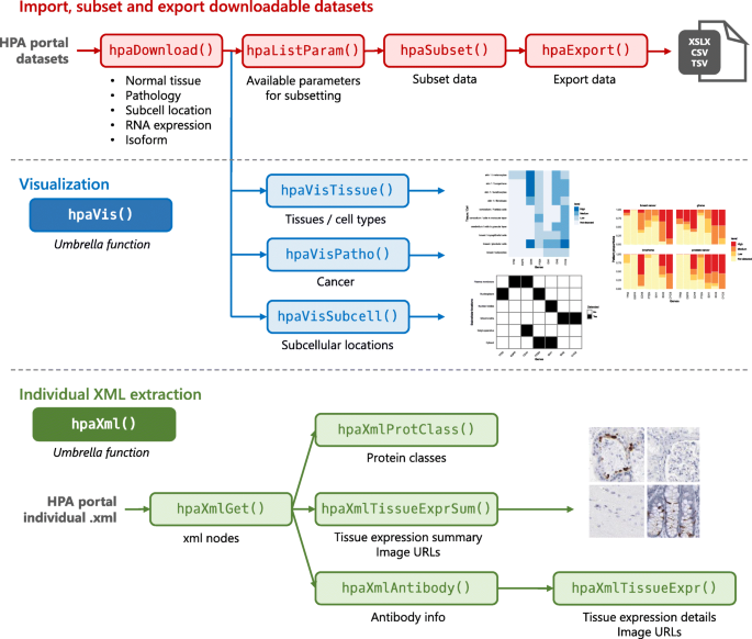HPAanalyze: an R package that facilitates the retrieval and