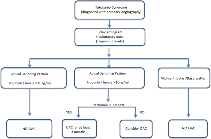 Oral anticoagulation in high risk Takotsubo syndrome: when should it